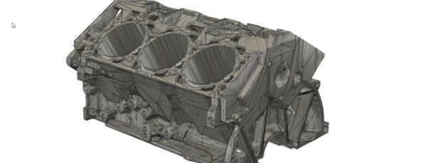 Fusion 360: STL-Netze auswählen und bearbeiten