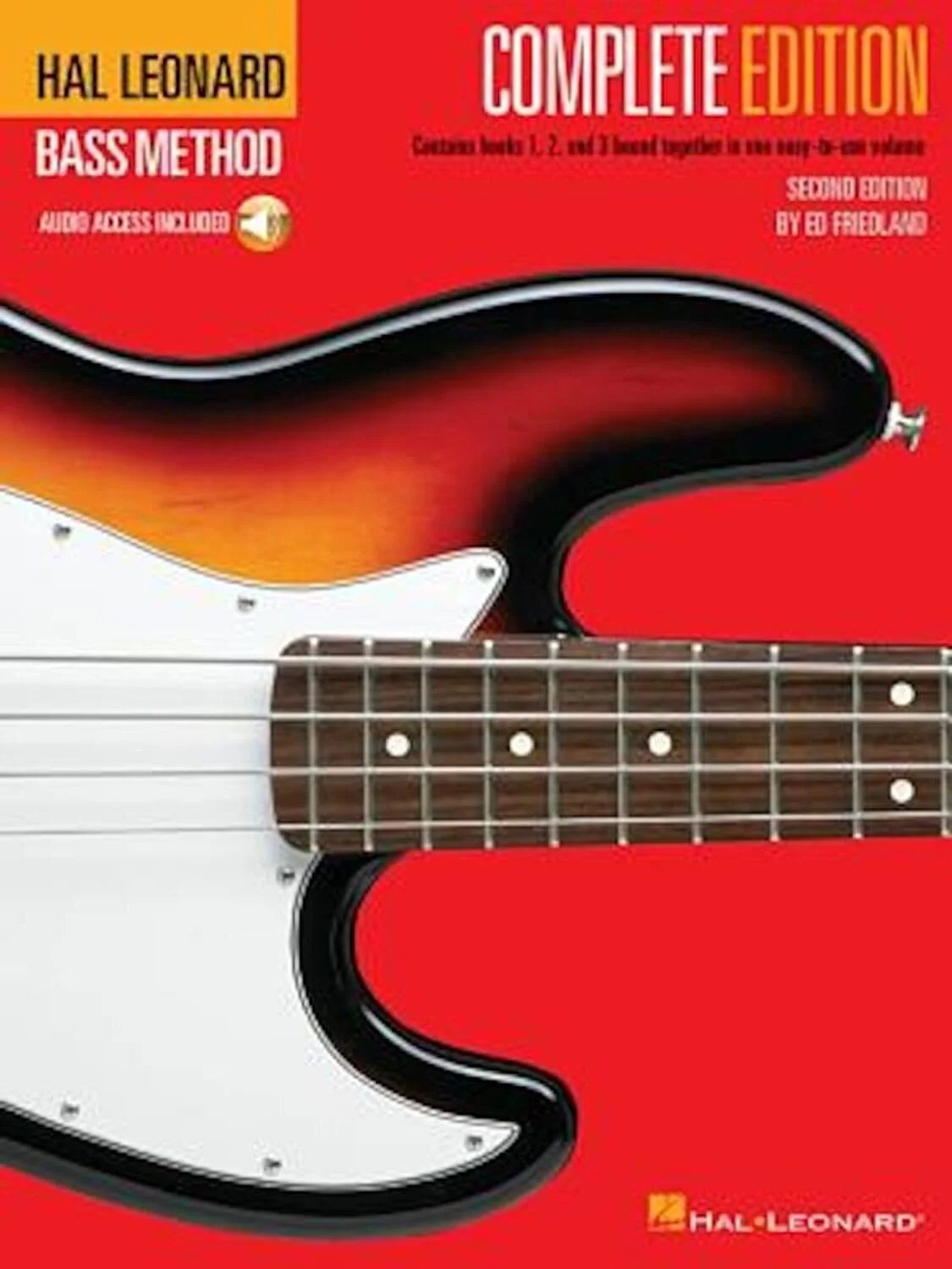 Image result for Hal Leonard Bass Method - Complete Edition: Books 1, 2 and 3 Bound Together in One Easy-To-Use Volume! 'With Compact Disc', Paperback