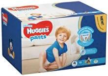 Scutece-chilotel Huggies Box boy 4, 9-14kg, 72 buc
