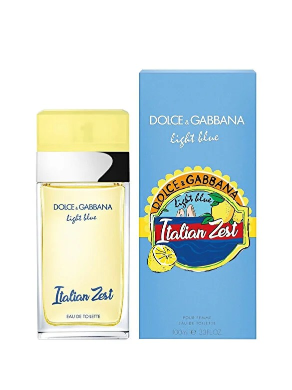 Dolce & Gabbana - Apa de toaleta Dolce & Gabbana Light Blue Italian Zest, 100 ml, pentru femei - Incolor