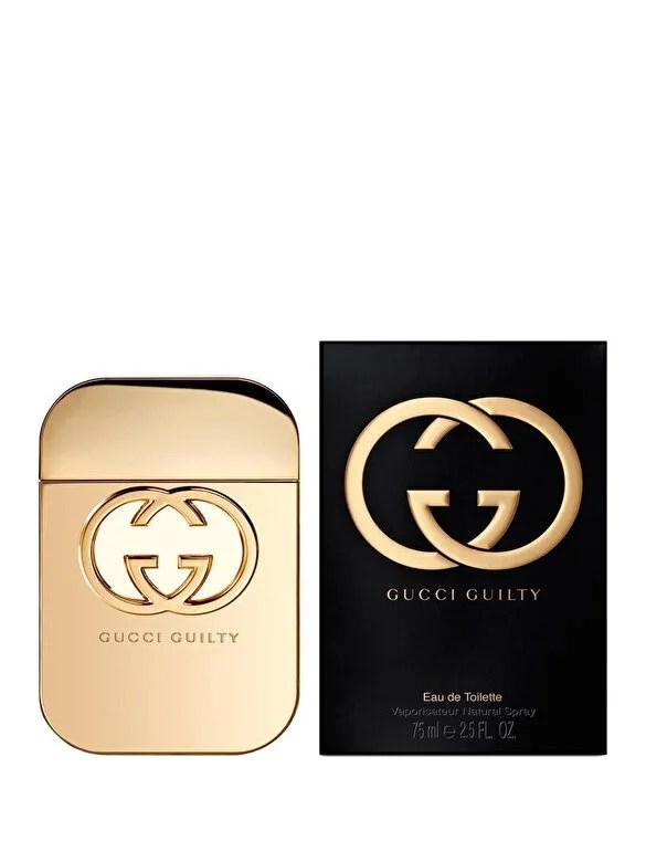 Gucci - Apa de toaleta Gucci Guilty, 75 ml, pentru femei - Incolor