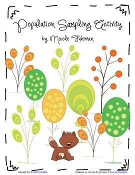 population sampling science learning activity