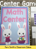 Fern Smith's Classroom Ideas Easter Arrays Concentration, Go Fish & Old Maid Center Games