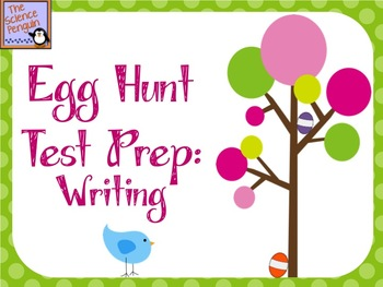 Egg Hunt Test Prep: Writing