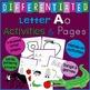 Letter A Alphabet Unit Plan