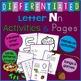 Letter N Alphabet Unit Plan