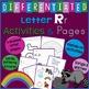 Letter R Alphabet Unit Plan