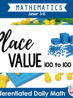 Mastering Math Sheets - 30 Days of Place Value