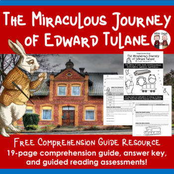 Free Downloads: Miraculous Journey of Edward Tulane Novel Unit