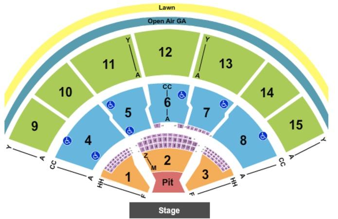 Jason Aldean Seating Chart