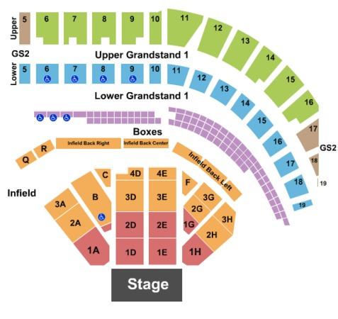 Puyallup Fairgrounds Tickets In Puyallup Washington