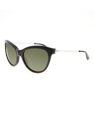 Black Silver Cat-Eye Sunglasses