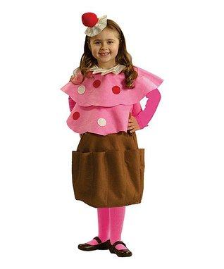 Pink Creamy Cupcake Dress-Up Set - Toddler & Girls