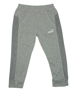 Gray Slup Dorm Pants - Girls