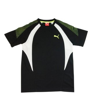 Black Prism Cutout Performance Tee - Boys