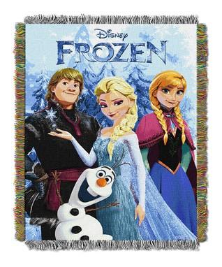 Frozen Fun Tapestry Throw