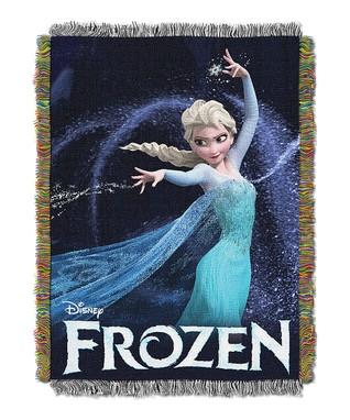 Queen of Ice Frozen Tapestry Throw