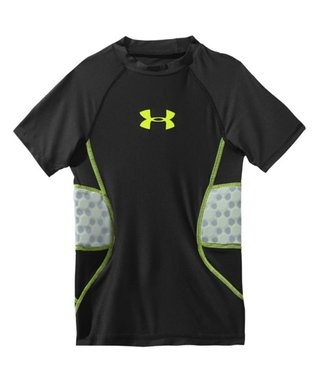 Black Gameday Armour Two-Pad Tee - Boys