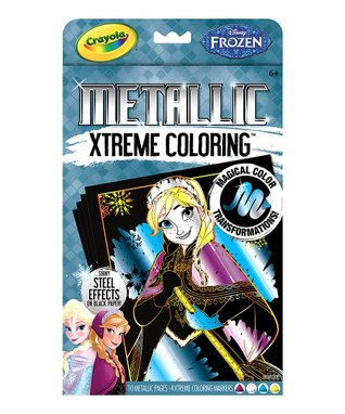 Frozen Extreme Coloring Metallic Activity Set