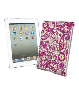 Paisley Meets Plaid Snap-On Case for iPad 2/iPad 3