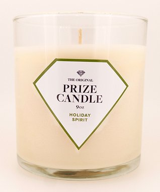 Holiday Spirit Prize Candle