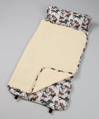 Tan Horse Dreams Nap Mat