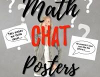 Math Chat Speech Bubbles