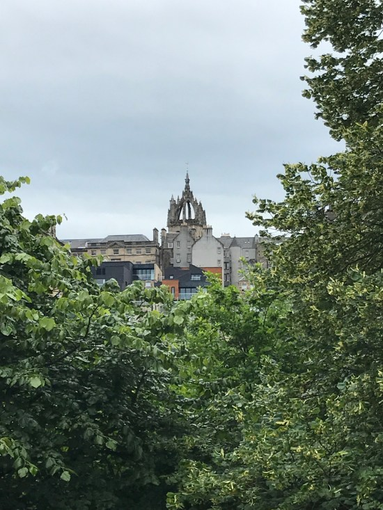 St Giles Cathedral Crown tower