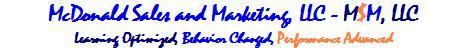 verbal skills, McDonald Sales and Marketing, LLC