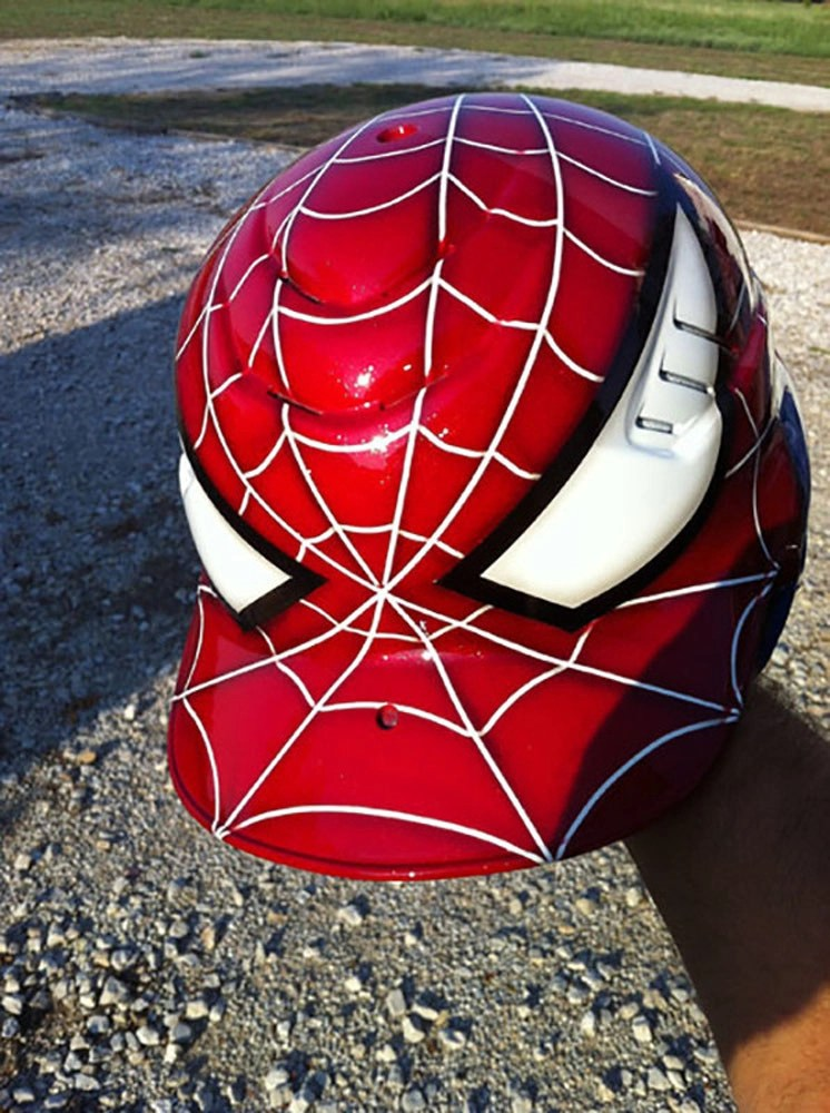 custom batting helmet