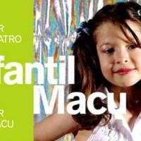 Estão abertas as inscrições para o Curso Infantil do Teatro Escola Macunaíma