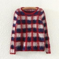 Bazar da Cidade - LOOM KNITWEAR, tricô [casaquinho quadriculado frente]