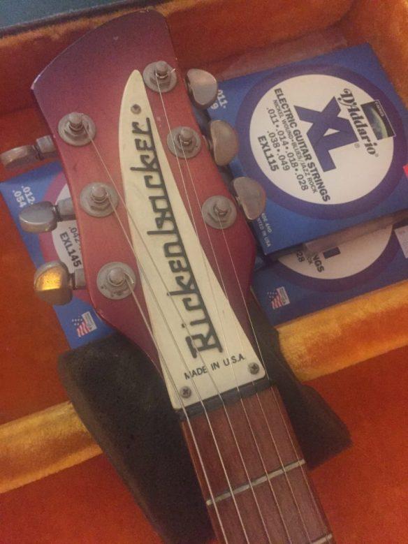 Headstock of a Rickenbacker Guitar