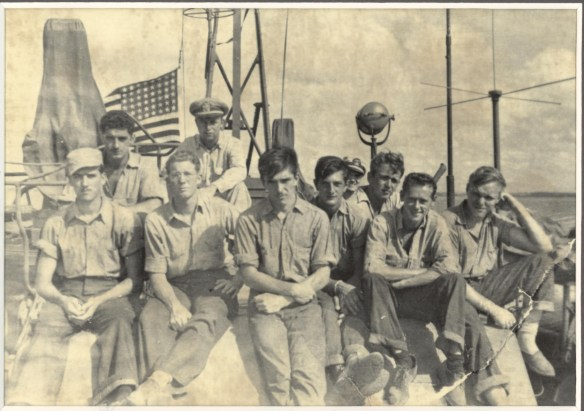 Crew of PT 490  Photograph Courtesy; McElfresh Map Co. LLC