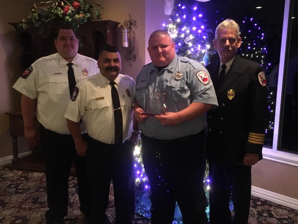 mcesd9 christmas banquet (dustin brown volunteer award)