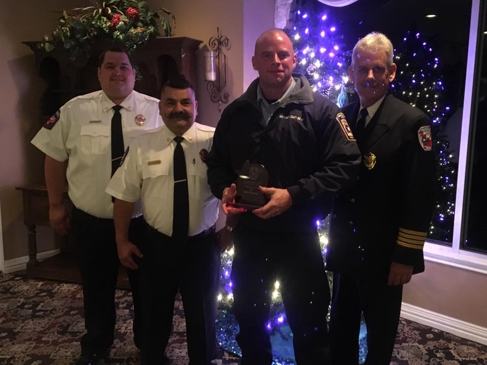 mcesd9 christmas banquet (dylan stevens firefighter of the year)