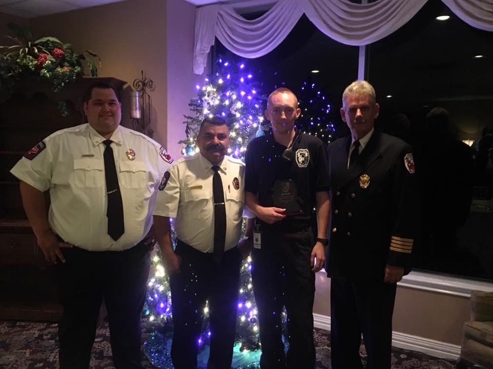 mcesd9 christmas banquet (rex morris volunteer award)