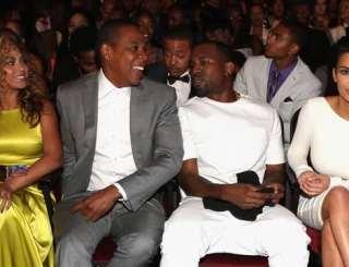 Beyonce Jay Z Kanye West Kim Kardashian