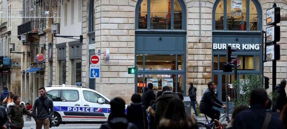 Bordeaux: un homme tente de braquer un Burger King