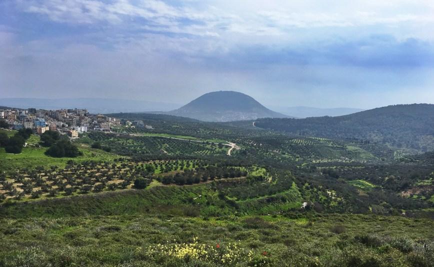 The walk to Nazareth.