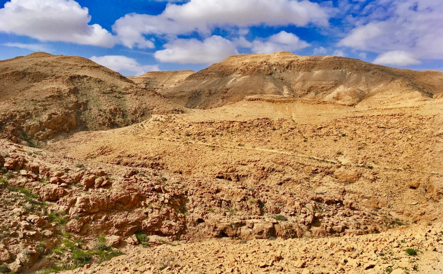 The walk to the Negev.