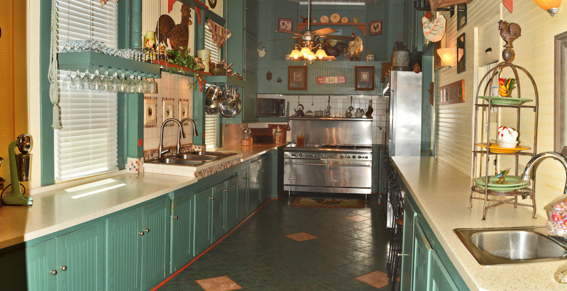 McFarlin House Bed and Breakfast in Quincy, FL - Kitchen #1
