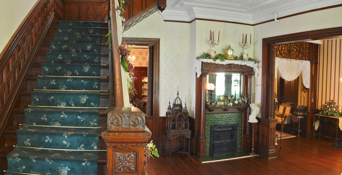 McFarlin House Bed and Breakfast in Quincy, FL - Staircase #2