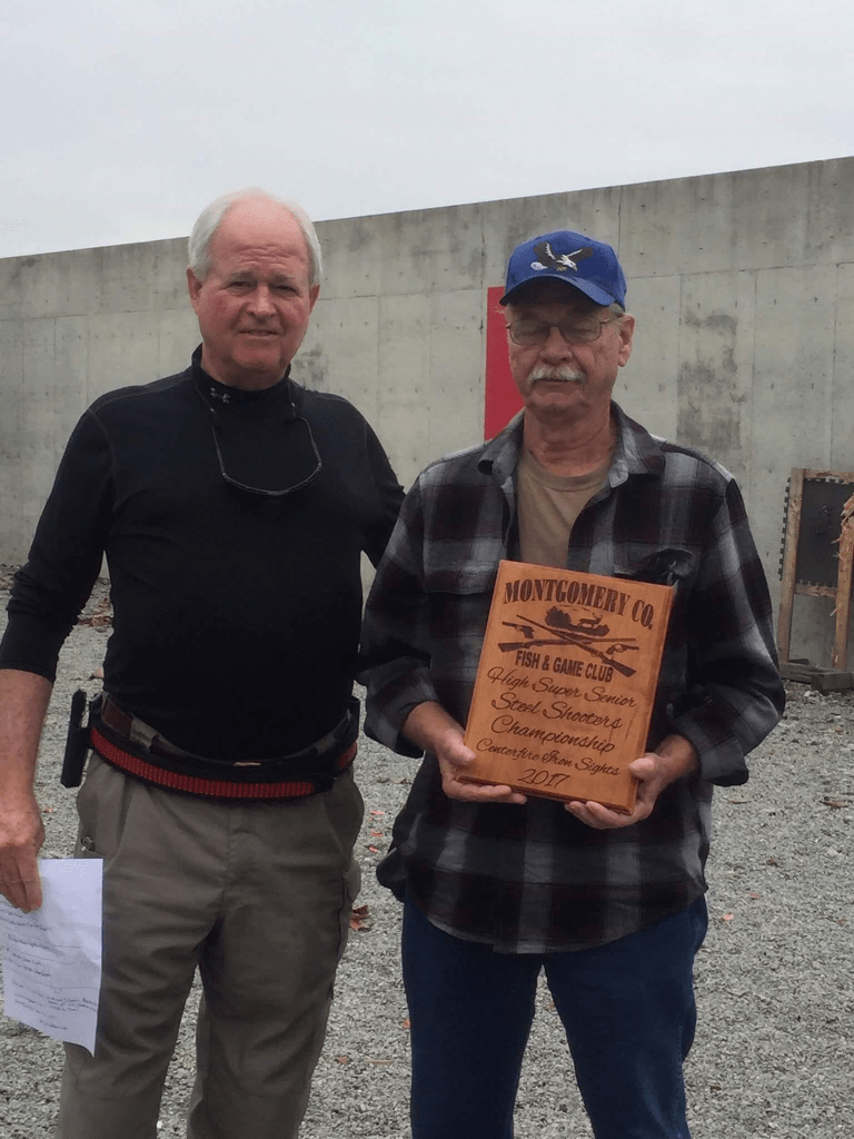 Jim Kayse - High Super Senior Iron Sights