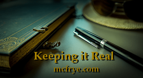 Postcard from (Writer's) space – Keeping It Real V