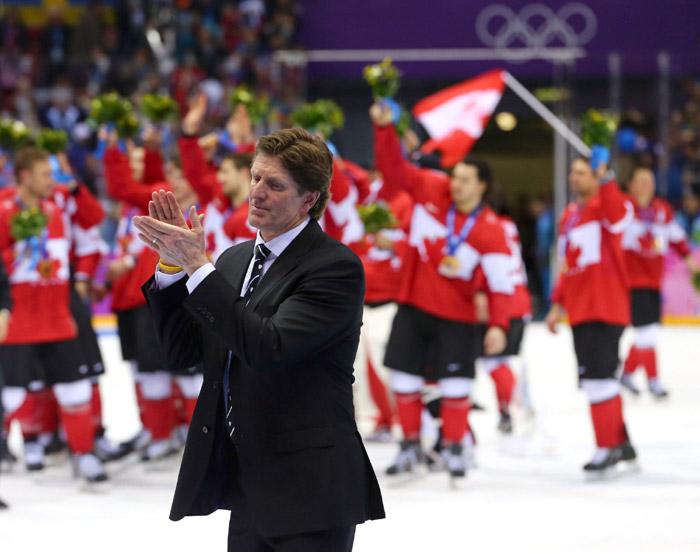 MIke Babcock Sochi Olympics