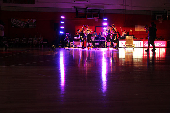 Performances were featured during the halftime show. (Photo courtesy of Max Drabkin)