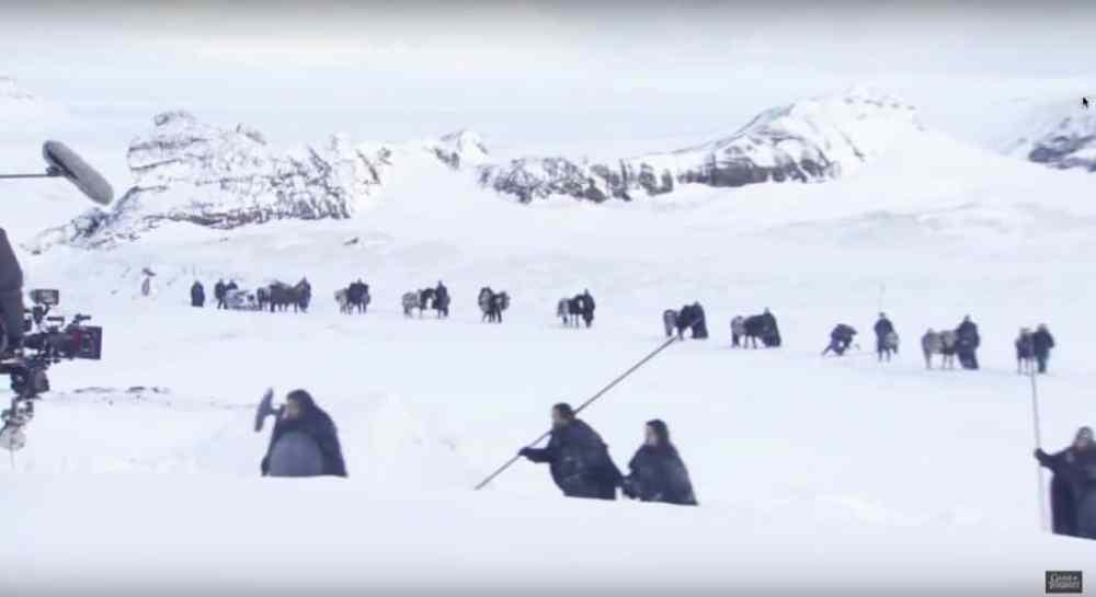 Games of Thrones  tourné en Islande