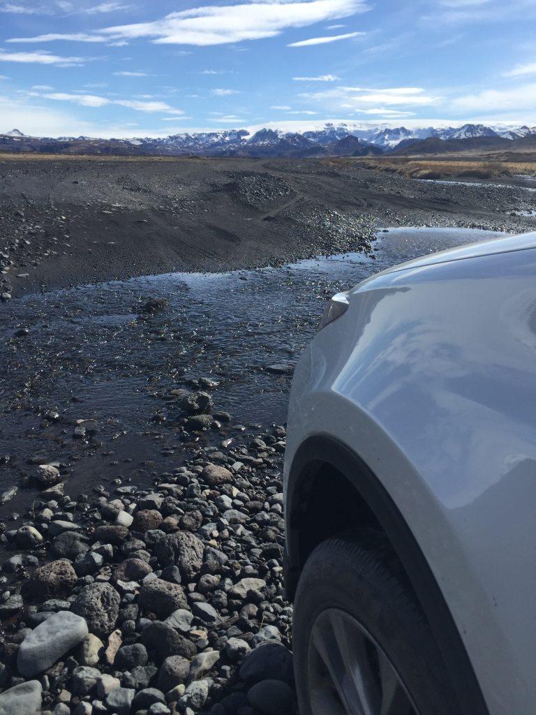 F road Islande