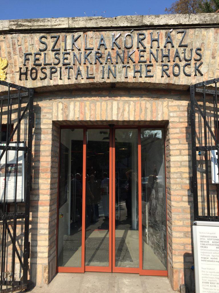 Hôpital le Bunker à Budapest